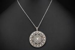 Rubin Diamant Brosche Mit Brillanten Brillianten Und Rubinen 750 Weißgold Nade* Broschen & Anstecknadeln Uhren & Schmuck
