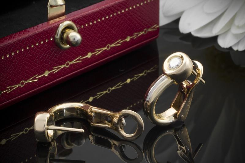 Cartier tricolor ohrringe